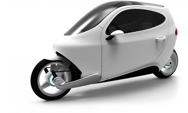 Lit Motors C-1: Electric Motorcycle That Won't Fall Over, Gallery 1 - Green Car Reports