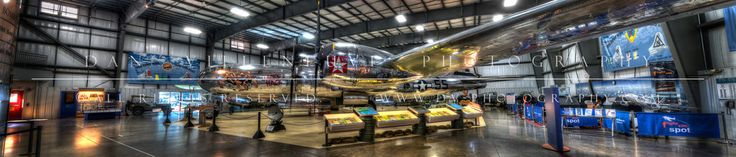 """Jack's Hack"" / B-29 Superfortress. Side view of the display hall. New England Air Museum, Windsor Locks, CT. Photographer: Dan Villeneuve"