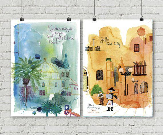 Vieille Ville Napoleon Israel Yafo Mosquee Bleu Jaffa
