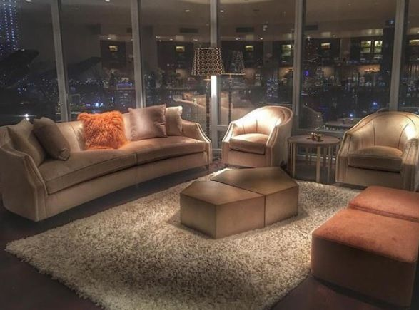 ALDO coffee tables by Casamilano @ Burj Khalifa. Thanks to @nahal.interiordesigner for the great picture!