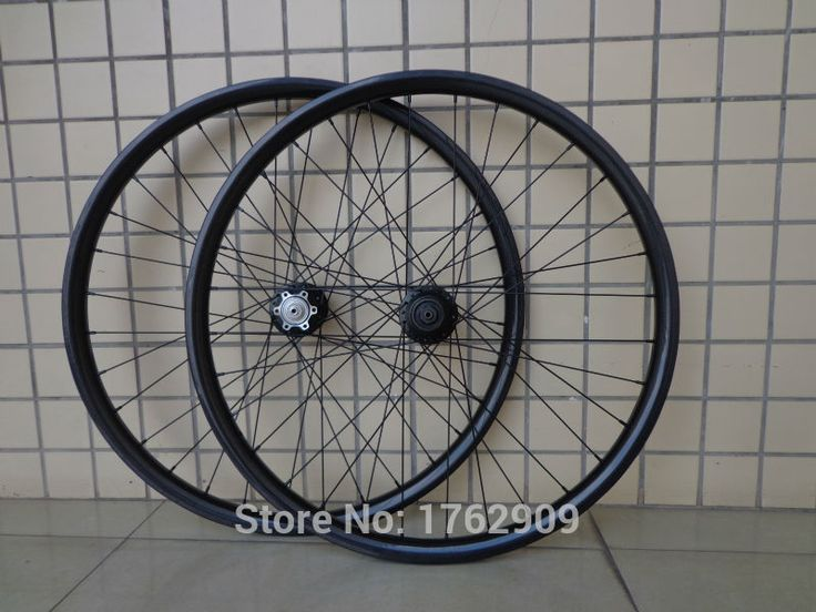 "Free shipping Mountain bike 27.5"" inch full carbon fibre disc brake carbon bicycle wheelset 27.5er MTB parts #Affiliate"