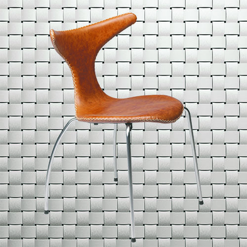 10 years with this outstanding design: DOLPHIN CHAIR #danishdesign