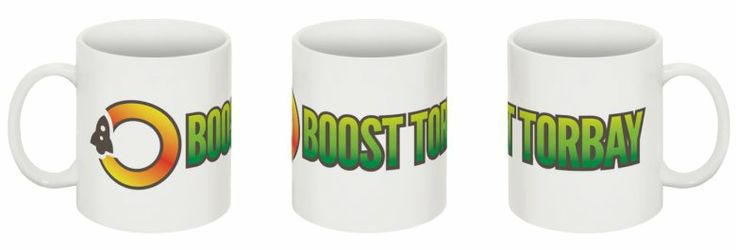 The all new #BoostTorbay mug will soon be available via our website...