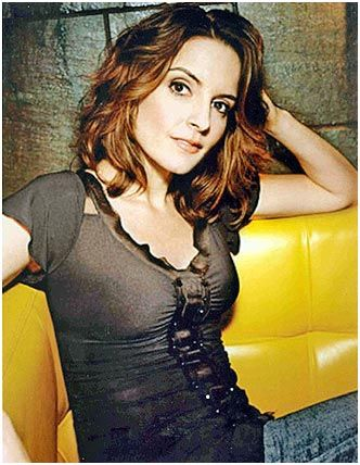 Tina Fey, American actress, comedian, writer and producer