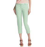 Zoe Cropped Pants in Stretch Cotton - LOFT