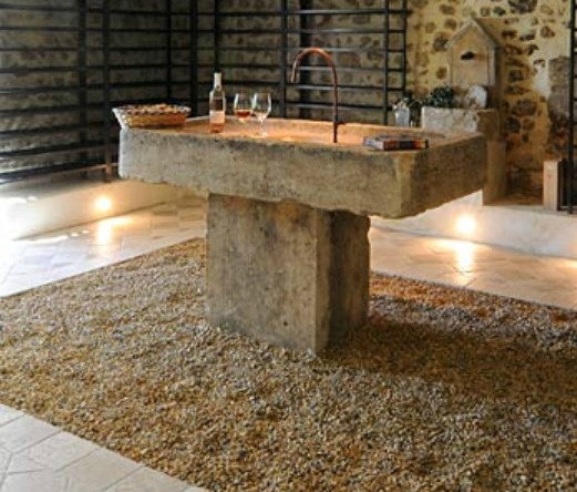 High Quality French Stone Sink Close Up