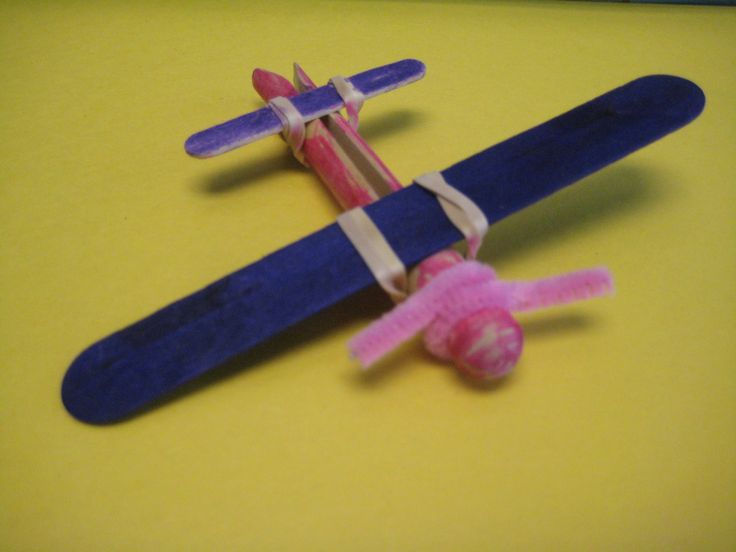 Clothespin airplane no glue 1st 3rd grade sky vbs for Crafts for 3rd graders