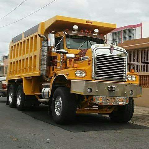 Kenworth custom C500 dump