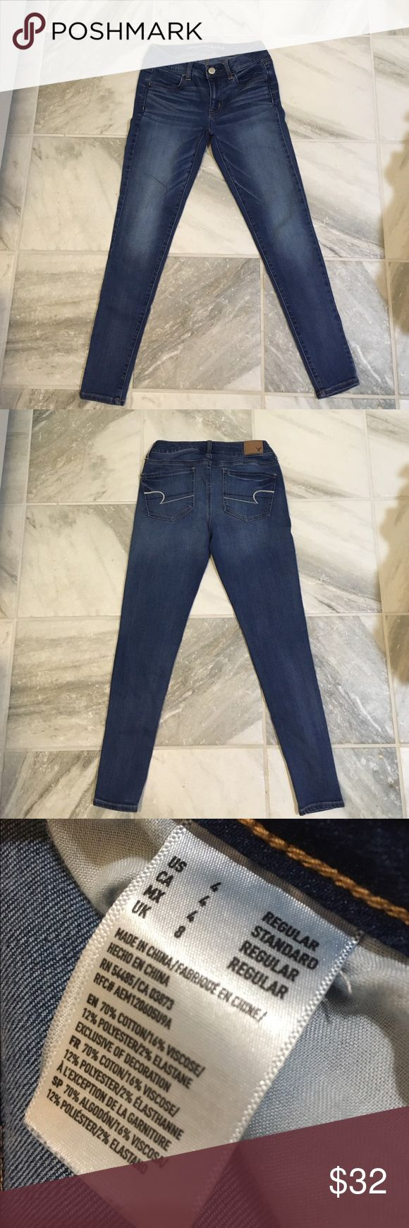 American Eagle Jeans Only worn once • reason for sale - did not fit • great condition American Eagle Outfitters Jeans Skinny