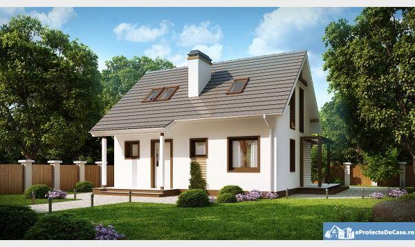 proiecte de casa cu parter si mansarda 2