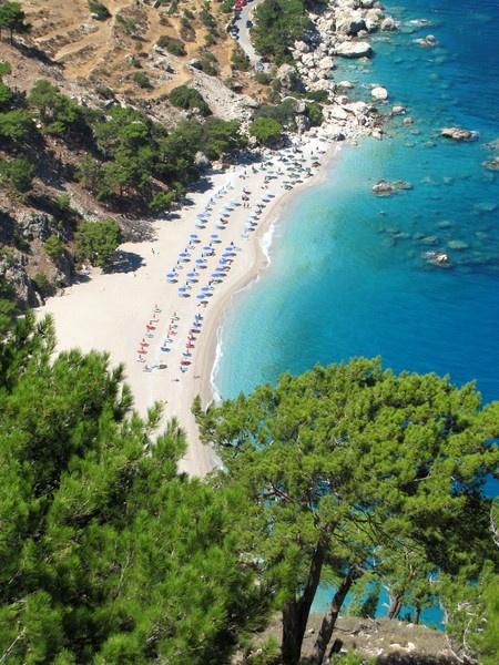 Beaches on the island of Karpathos #Greece