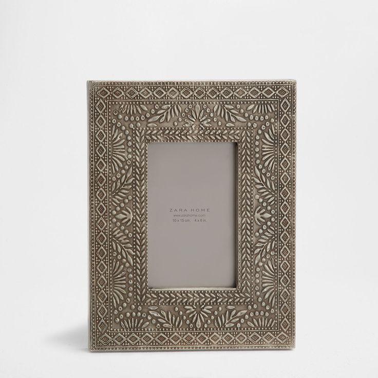 Εικόνα 1 του προϊόντος Μεταλλική κορνίζα με ανάγλυφα φύλλα
