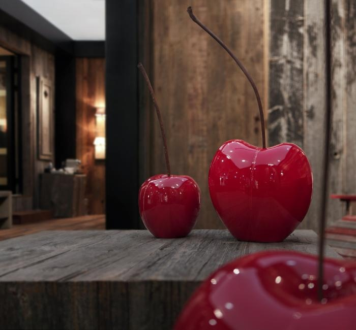 Ceramic fruits of Bull & Stein. Cherry... @diseno_İstanbul