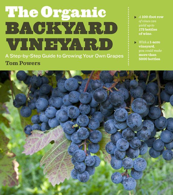 """The Organic Backyard Vineyard"" walks the small grower through the entire process of starting a backyard vineyard, including: how to design and build a vineyard; how to select grapes for each region; how to maximize yield using organic maintenance techniques; how to build a trellis; how to harvest at peak flavor; and how to store grapes for winemaking."