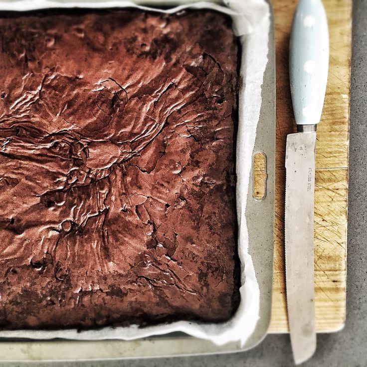 I did it again. Triple chocolate chip brownies!