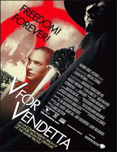 Poster de V de Vendetta