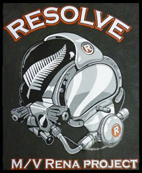 Custome Made t shirt for Resolve Rena Project Operators here in the Bay of Plenty colourworks textile printing
