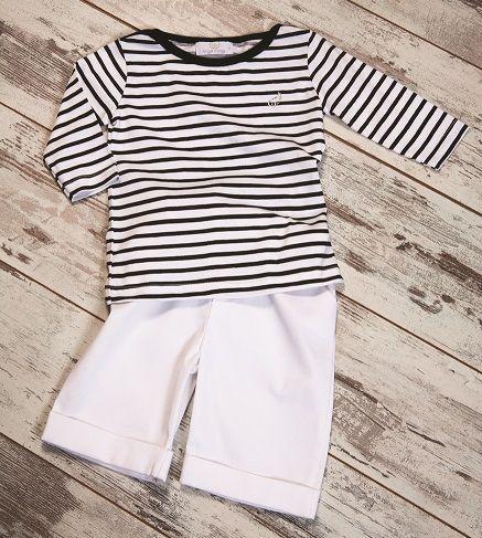 Mariere shirt & Short Gabardine Pants  #kidsclothing #kidswear #boysfashion