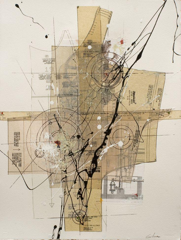 Etienne Gelinas (dressmaker tissue paper)