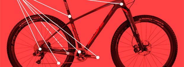 Ocho sencillos puntos de engrase para eliminar crujidos en la bicicleta