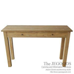 the Jegoods Furniture Studio produced teak furniture at factory prices. Sederhana console table teak minimalist contemporary furniture meja konsol Jepara Goods. at #factoryprice. #teakfurniture #indonesiafurniture #jeparafurniture #javafurniture #teakjavafurniture