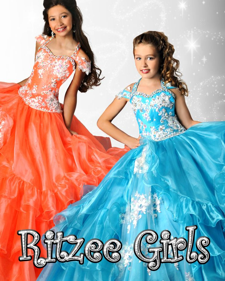 The 18 best Ritzee Girls Fall 2014 Pageant Dresses images on ...