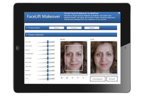 FaceLift Makeover By ModiFace