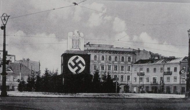 Lodz (Litzmannstadt), 1939-1945, Poland