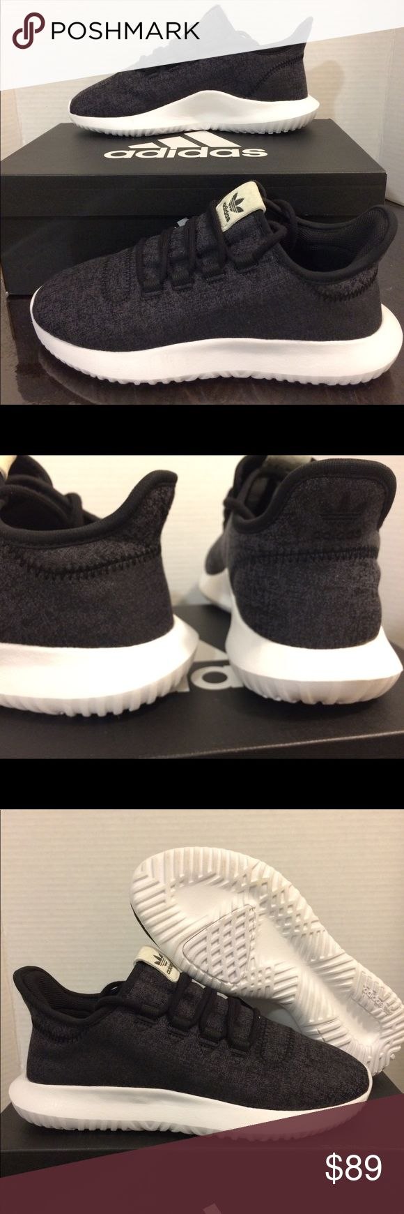 New Adidas Tubular Shadow Charcoal Black unisex New Adidas   Size 7, 8  Very great looking athletic shoes with amazing comfort. Don't end up paying those high prices when you can get them for an affordable price.  No refunds No low ballers Authentic   NMD