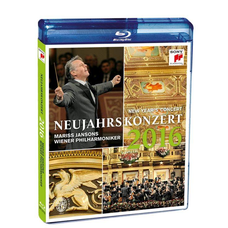 Great Performances: Vienna Philharmonic New Year's Concert 2016 Blu-ray