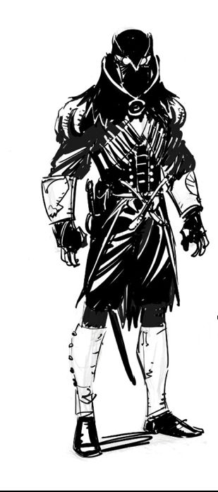 "Batman's 1770s Talon Assassin Design ""Court Of Owls"""