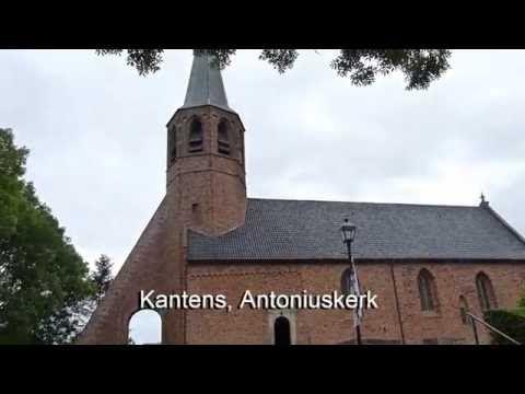 Quilt Festival Noord Groningen, een deel van de kerken, molens en dorpshuizen met vooral modern textiel werk. De traditionele quilts komen wat minder in beeld (16/06/2016)