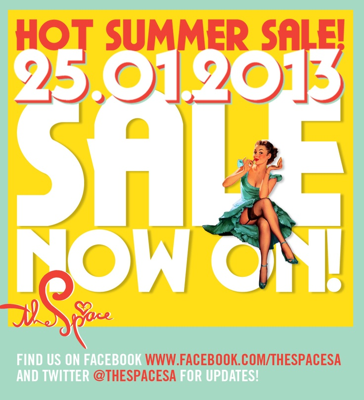 Summer Sale now on! #The Space