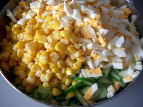 Рецепты салатов из консервированных продуктов бобовых
