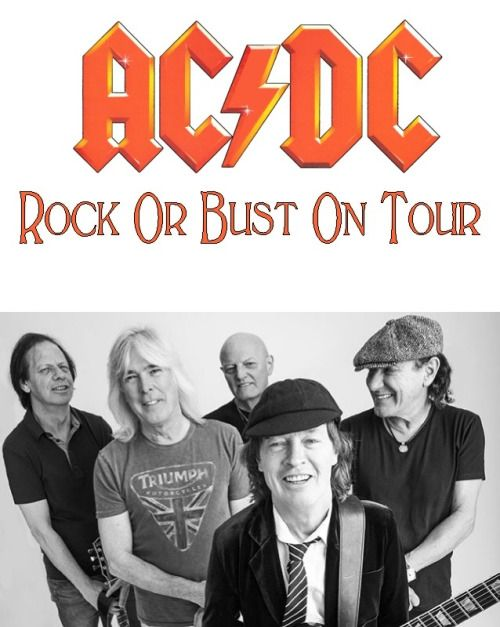 AC/DC Rock Or Bust On Tour NOW
