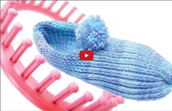 Vidéo: faire des chaussons au tric rond Plus