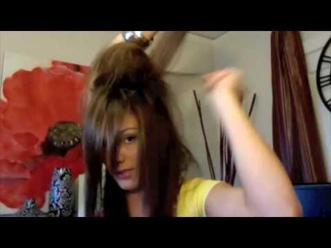 How to tease your hair #bump #hair #volume