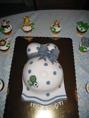 Bashert Cakes: Baby Bump Cake