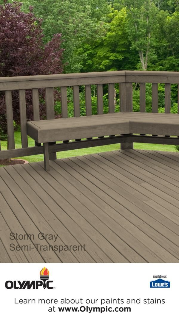 Superb STORM GRAY Is A Part Of The Olympic Stains   Semi Transparent Collection By  Olympic