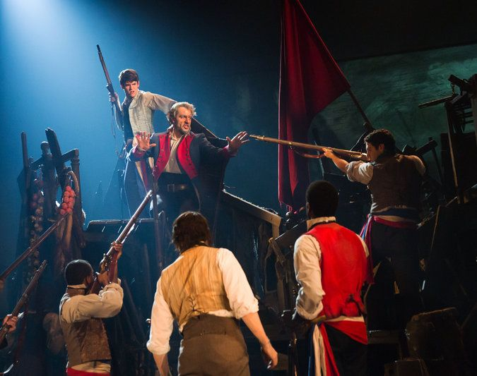 broadway+les+miserables   Les Misérables Ramin Karimloo, center, in his Broadway debut as Jean ...