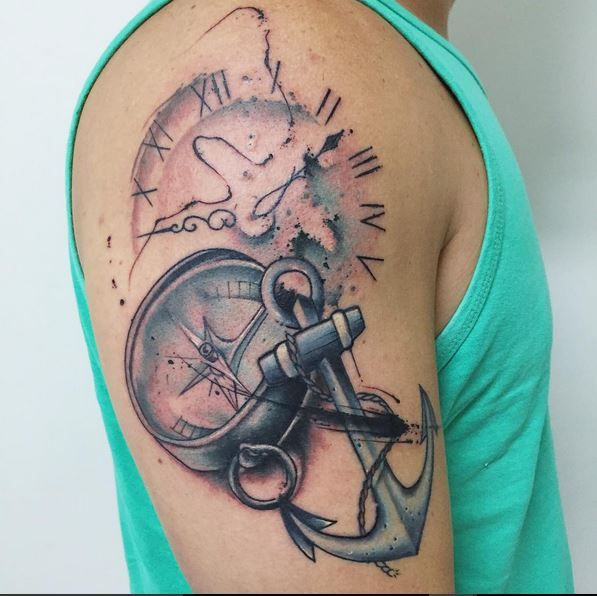 significado completo da tatuagem de ncora 30 exemplos