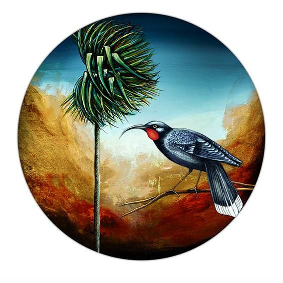 Fine art prints. Limited edition giclee print. All artworks are printed in NZ. NZ art for sale. New Zealand art prints for sale online. Tui bird