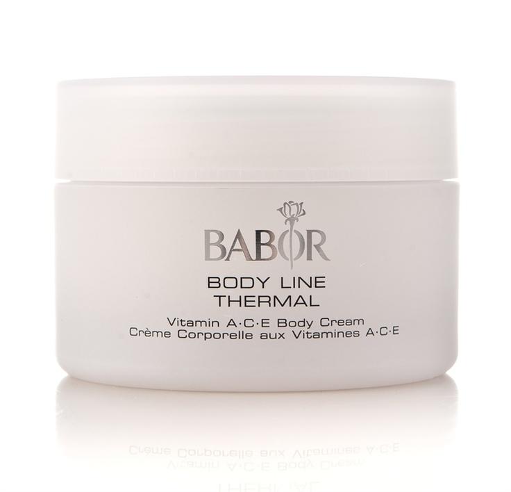 Babor Body Line Thermal Vitamin A*C*E Body Cream #Cocopanda #Jul #Gaver