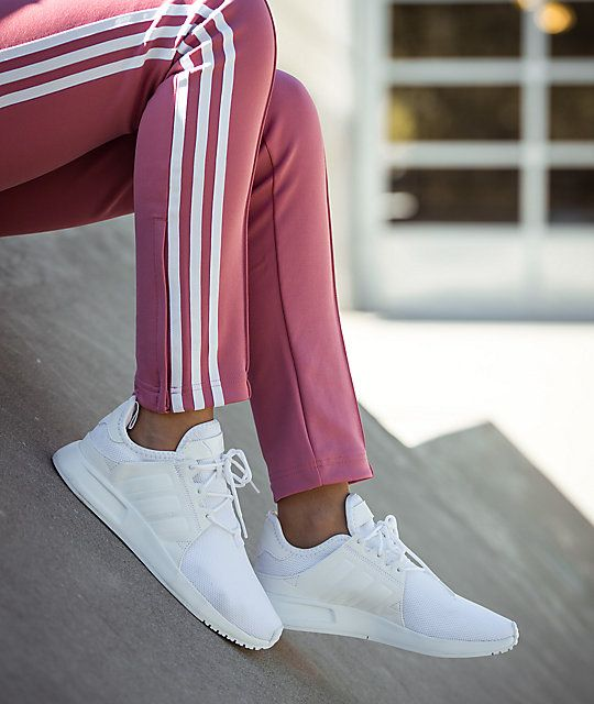 online store 396a1 3954f adidas Xplorer All White Shoes Size 7