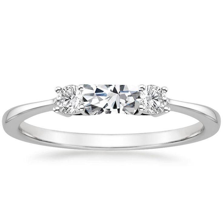 Triple Diamond Ring in Metallic Gold ERTH ylzTbsCKb