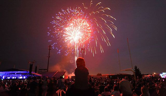 See some of the best fireworks around at the Independence Day Celebration!
