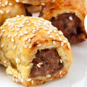 I Quit Sugar - Pork and Fennel Sausage Roll