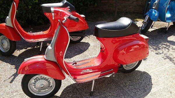 Arriving soon at our San Francisco store: An early 70s Vespa 50 Specials!  We are now taking refundable deposits for first pick of the bunch.  #VintageScooter #Vespa #RestoredScooter #VintageScooterStore #VintageScooterService #Scooterholic #SanFrancisco