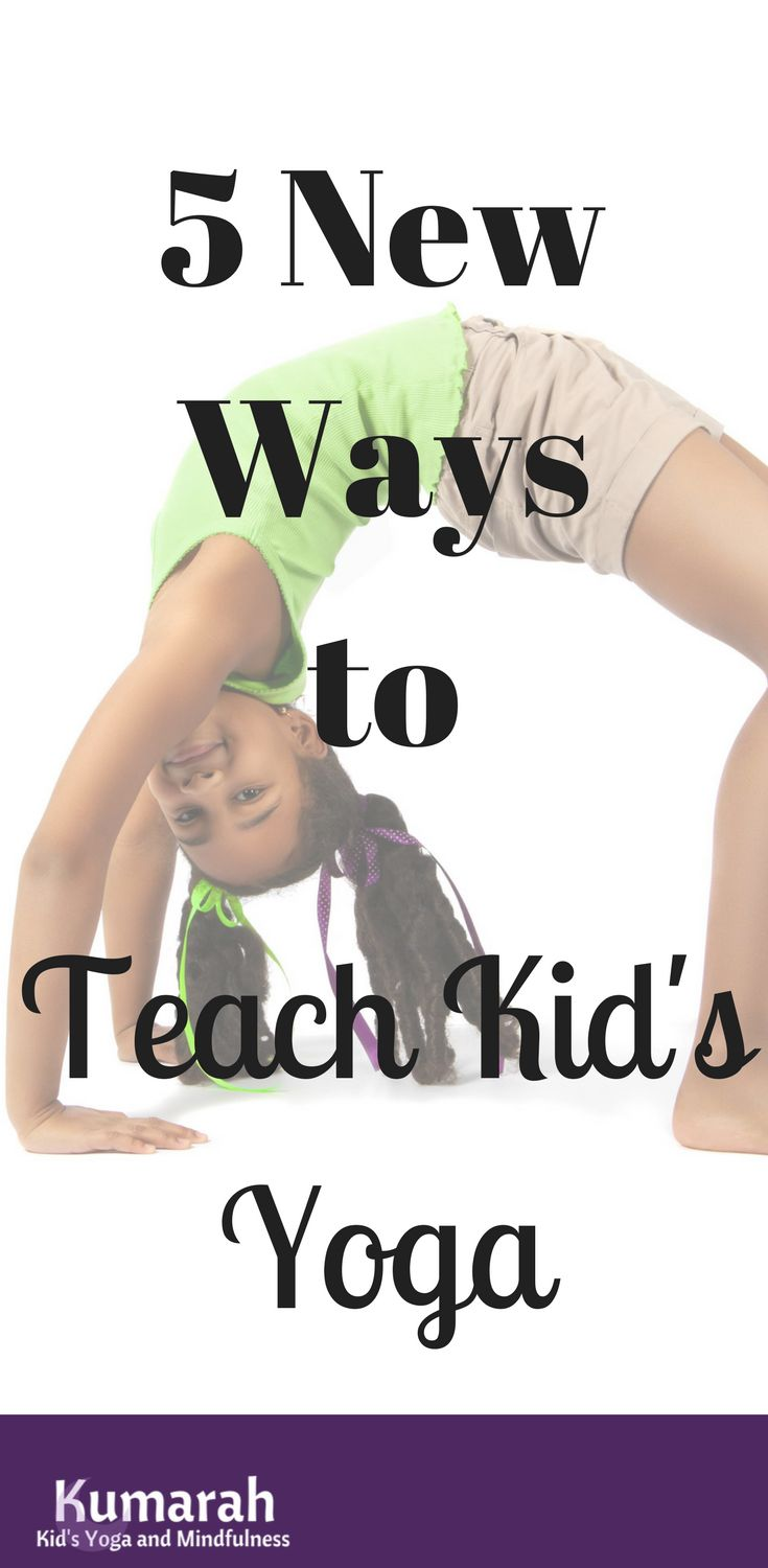 5 fun ways to teach kid's yoga to a group of students | These ideas can be used in a school, a studio, or at an after-school program. Get tips and tricks and have fun teaching yoga for kids!