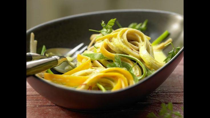 Gemüsenudeln mit dem Dampfgarer von Miele